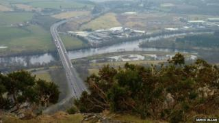 James Allan's picture of Friarton Bridge