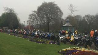 Motorbikes at Weston Park