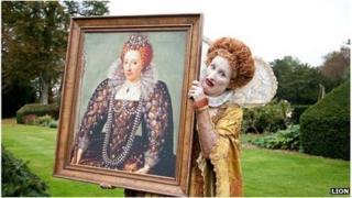 Horrible Histories picture of Queen Elizabeth I