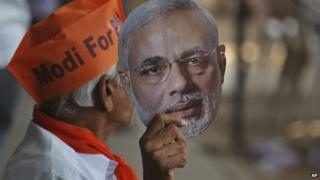 Mr Modi is the BJP's candidate for PM