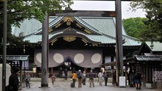 The souls of Japan's war dead are enshrined at Yasukuni