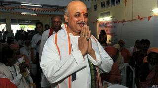 Praveen Togadia is backing the BJP in the ongoing general elections