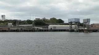 Millbay Docks in Plymouth