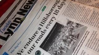 The column The Big Eye appears in the Lynn News