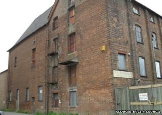 Fox's Malthouse, Gloucester Docks