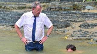 Jeremy Clarkson and Richard Hammond in the Top Gear Burma special