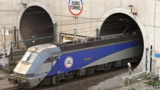 Channel Tunnel file picture