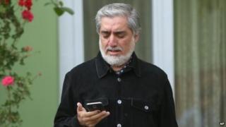 Abdullah Abdullah (20 April 2014)
