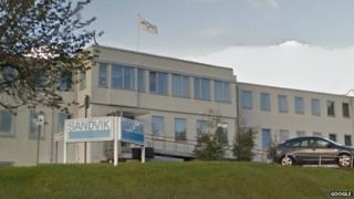 Sandvik Halesowen head office