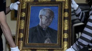 Archbishop of Canterbury portrait