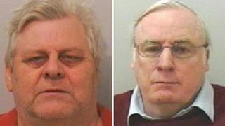 Kevin Brown, left and John Leslie Duncan