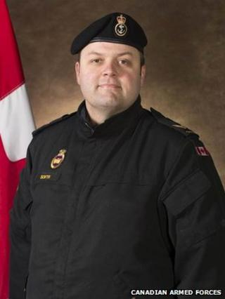 Photo of Leading Seaman Brandon South, Canadian Forces Base Esquimalt, 17 December 2013
