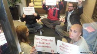 Protest Cymdeithas