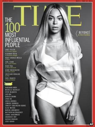 Beyonce on Time magazine