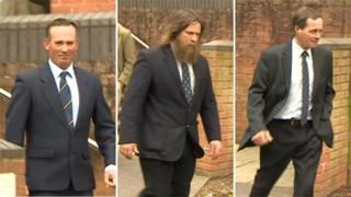 Hunting case involving Donald Summersgill, Rupert Andrews and David Greenwood