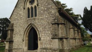 Blandford's cemetery chapel