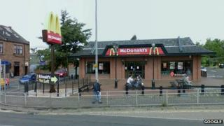 McDonald's in Maryhill Road, Glasgow