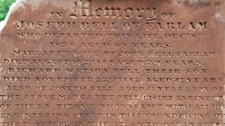 Gravestone memorial