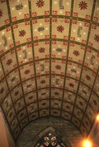 St Bridget's Church ceiling