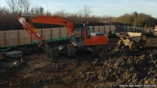 Digger provided by HSE