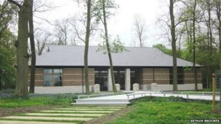 Interpretive centre, Cambridge American Cemetery