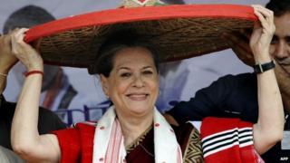 Congress president Sonia Gandhi is a candidate from Rae Bareli in Uttar Pradesh state