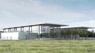 Proposed research and development centre in Malmesbury, Wiltshire