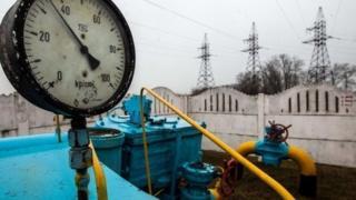Gas supply station near Kiev