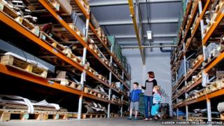 Wrest Park Archaeological Collections Store