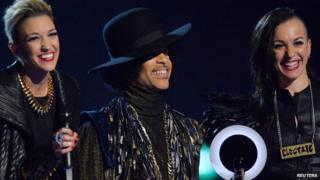 Prince and 3rdEyeGirl