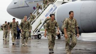 RAF squadron returns