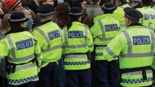 Greater Manchester Police officers