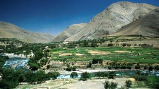 The Panjshir valley (file photo)