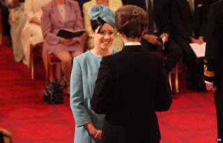 Helene Donnelly picks up her OBE