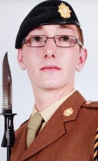 Pte Cameron Laing