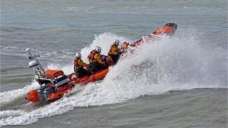 Cardigan's Atlantic 85 Class lifeboat