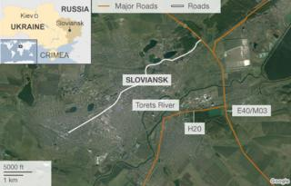 Ukraine crisis: Sloviansk rebels down army helicopters