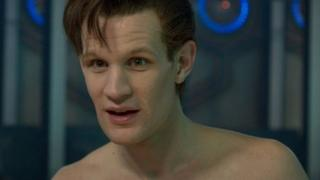 Matt Smith in The Time of the Doctor