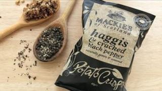 Mackies crisp packet