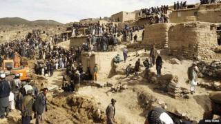 Afghanistan landslide: Day of mourning declared