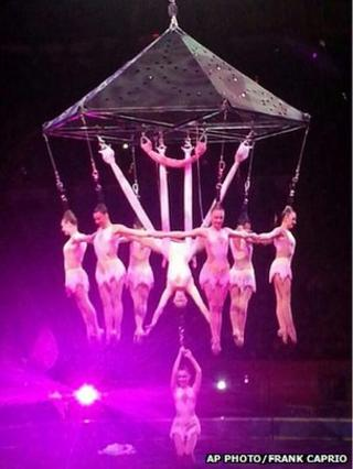 US acrobats injured in fall at Rhode Island circus act