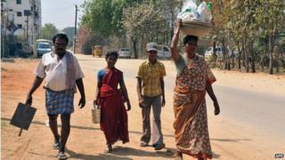 Indian migrants in Hyderabad