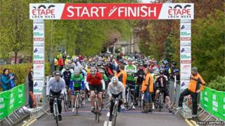 The 67-mile-long course started and finished in Inverness