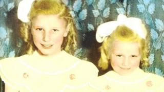 Irene Hall (nee Dunwell) and her sister Anne