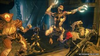 Screenshot from Destiny