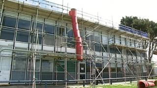 The block at Helston Community College