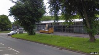 Proposed site of McDonald's in Matlock