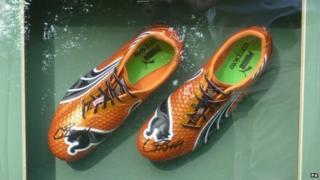 Usain Bolt's shoes