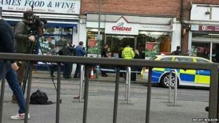 Raid in Sunbury