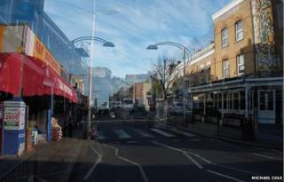 Rye Lane and Bellendan Road, London SE15